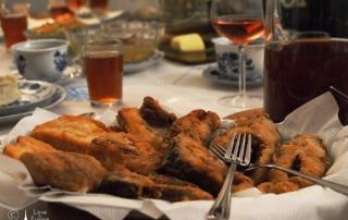 francuski stół wigilijny