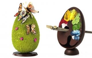 czekoladowe jajka wielkanocne