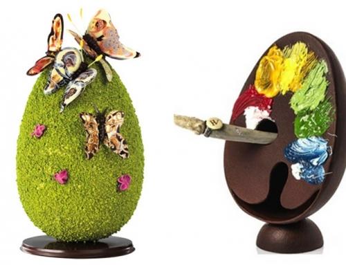 Czekoladowe święta wielkanocne francuskich mistrzów czekolady