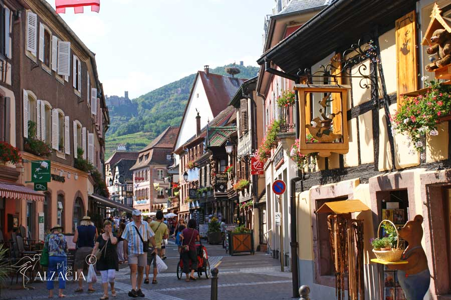 Ribeauville - bajkowe miasteczka Alzacji