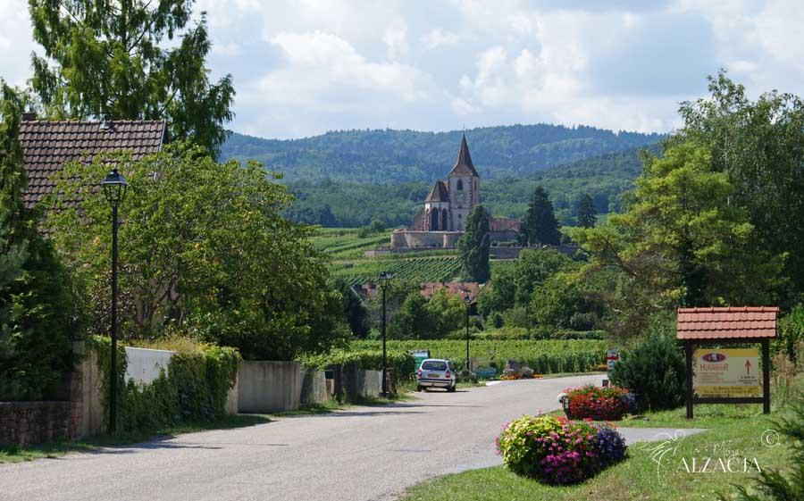 Hunawihr - bajkowe miasteczka Alzacji