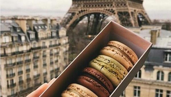 francuskie ciastka