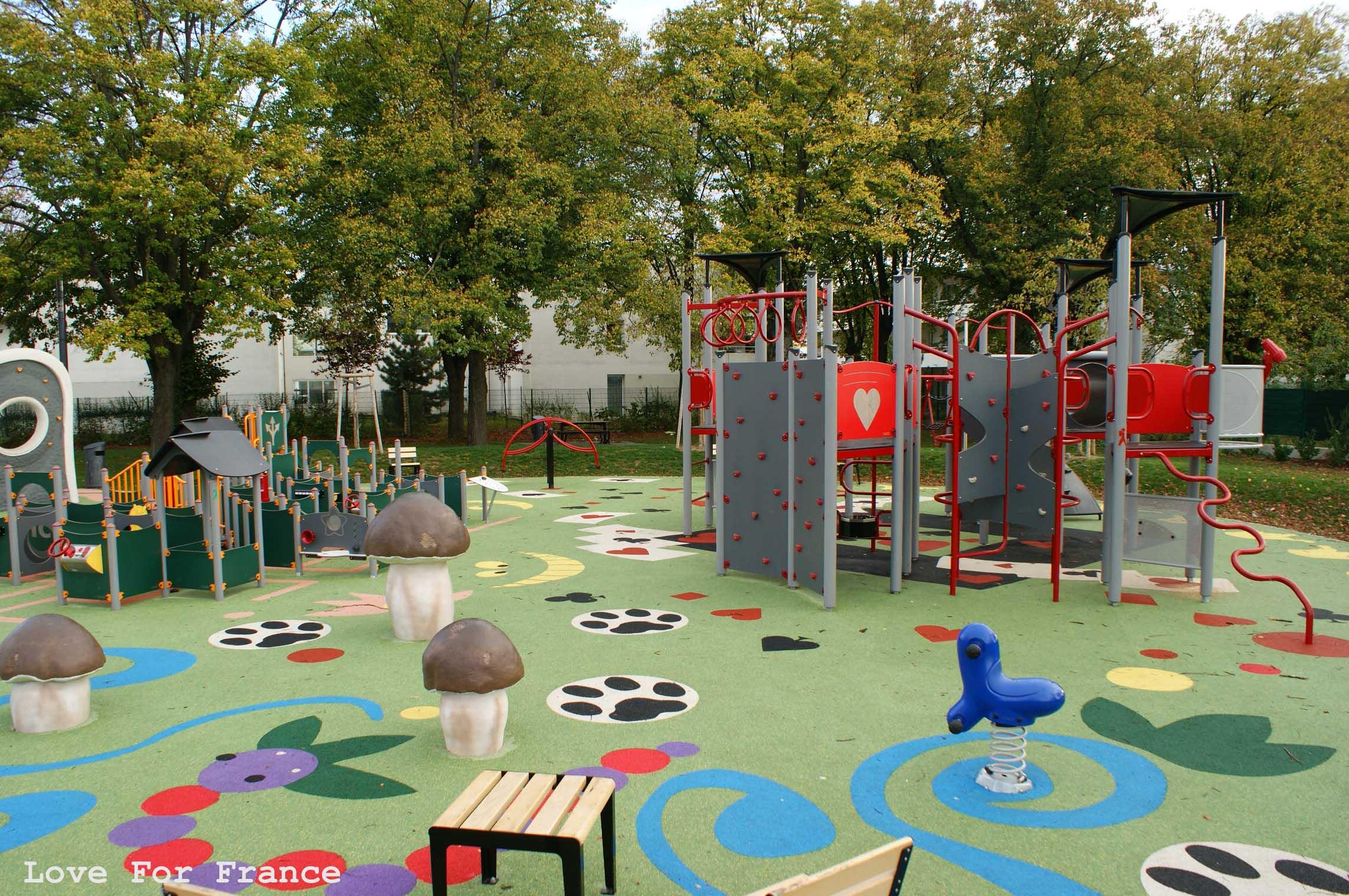 plac zabaw w Miluzie