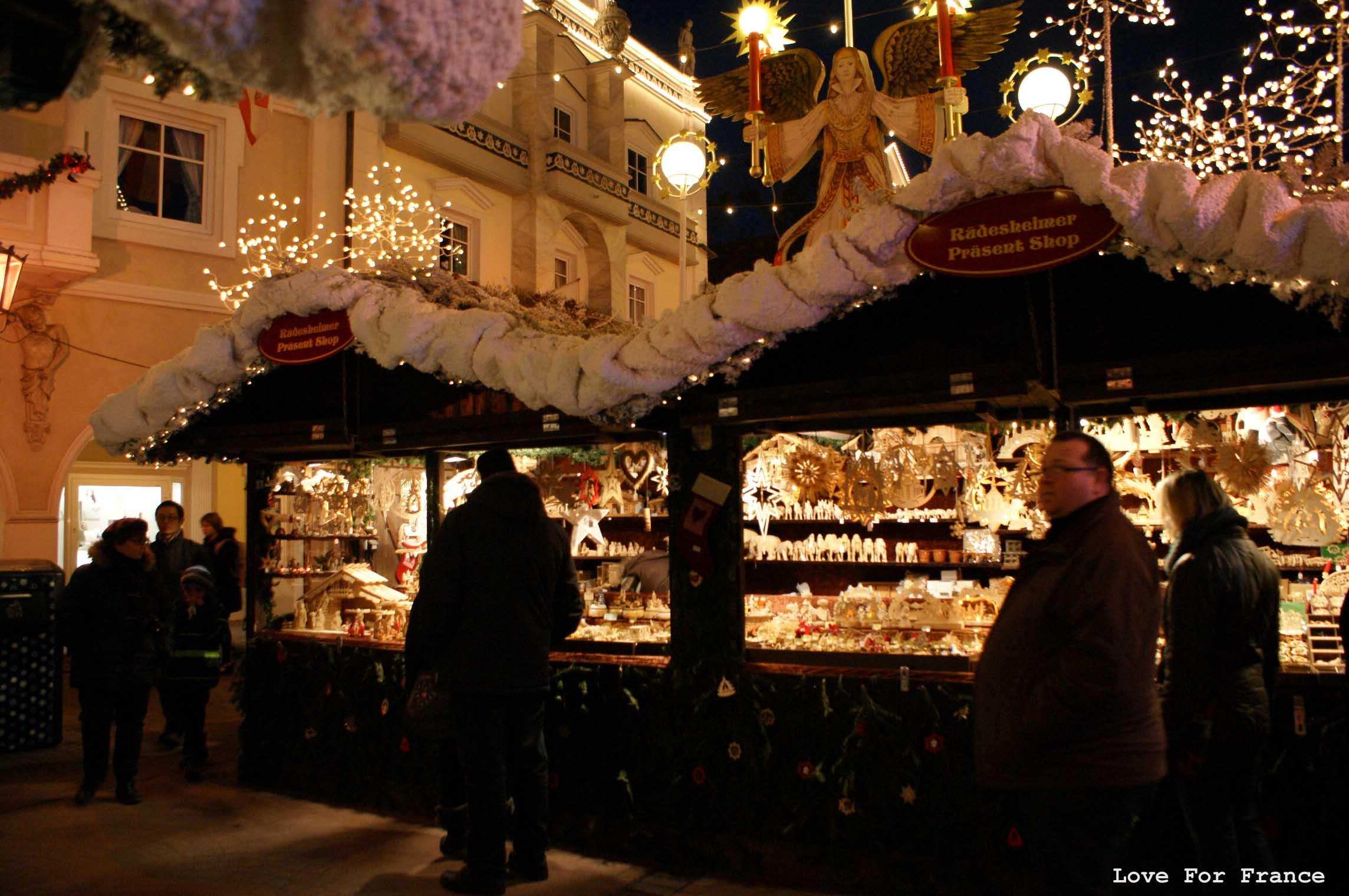 Marché de Noël w Bazyli i Rust