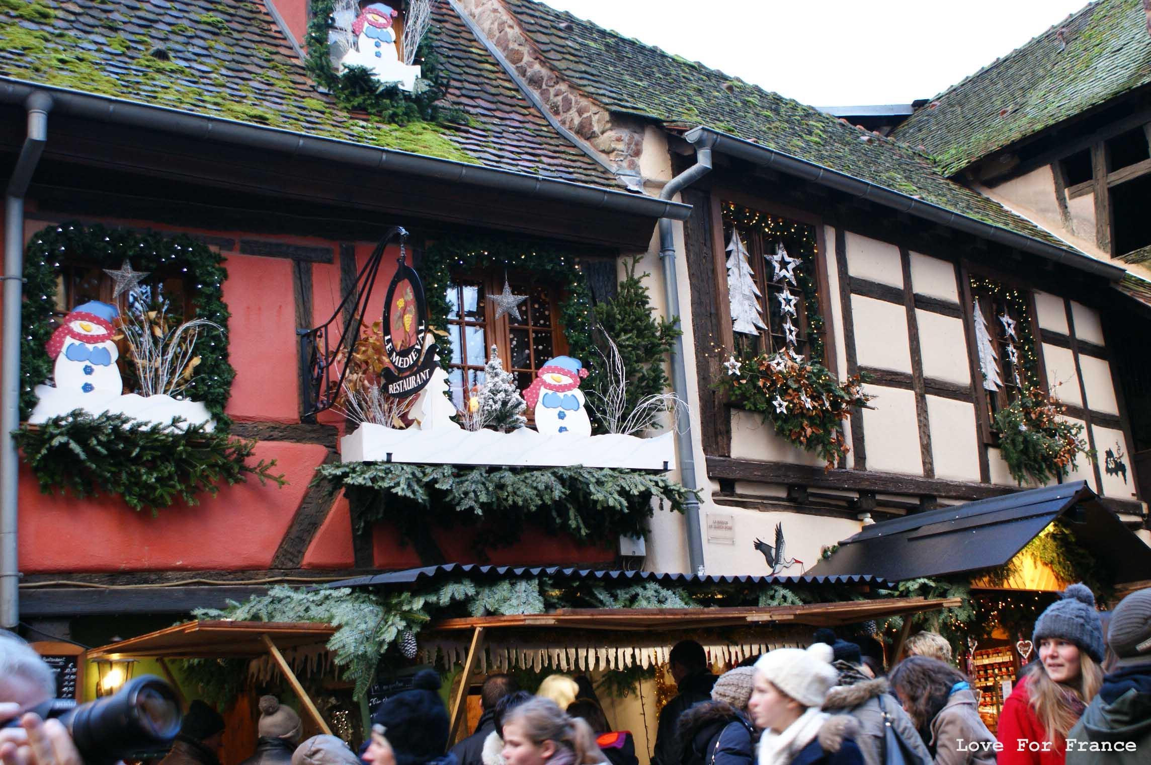Marché de Noël w Strasbourgu i Riquewihr
