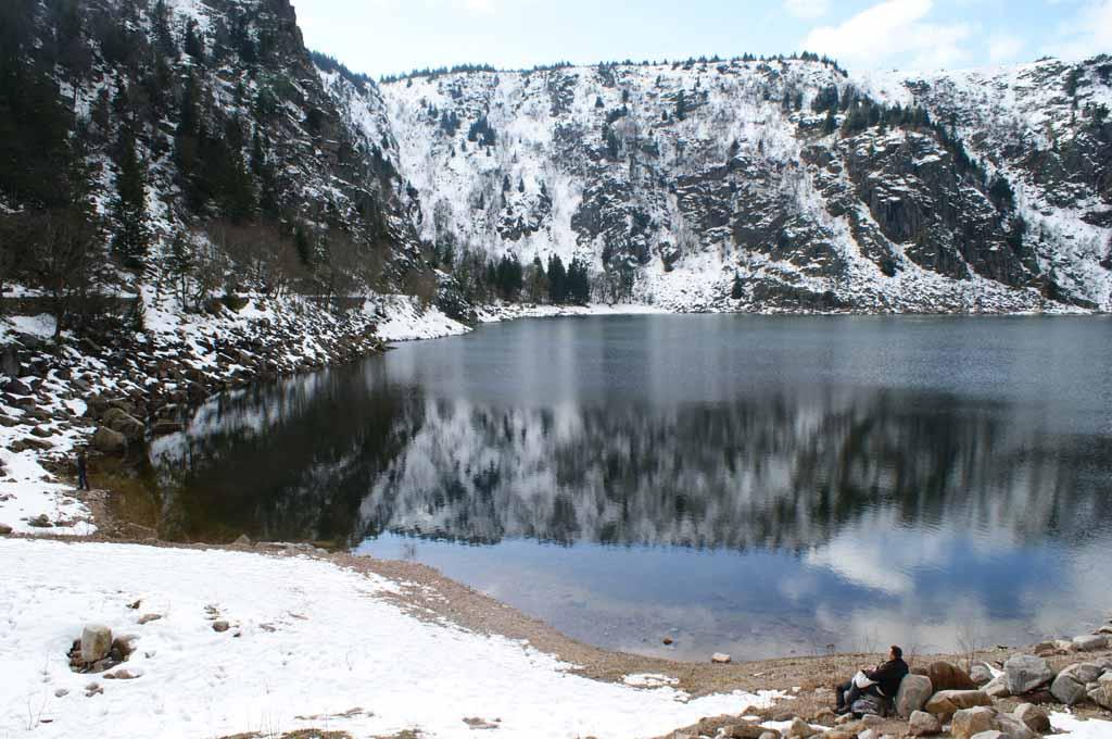 lac blanc alzacja