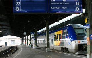 pociągi we francji