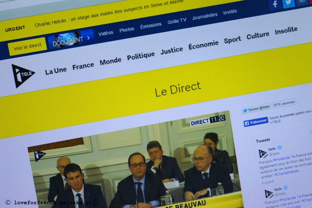 francuskie radio telewizja online