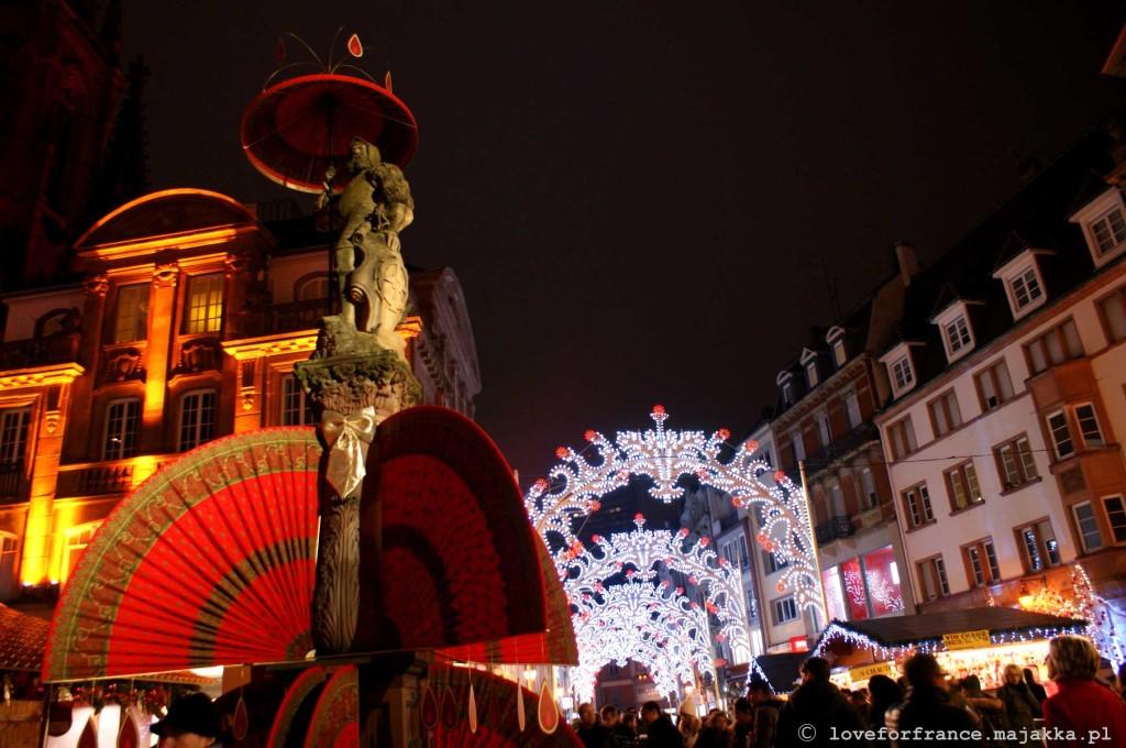 marché de Noël, Alzacja
