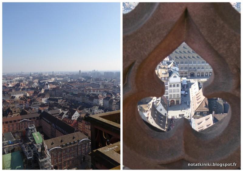 07-widok z Katedry Strasbourg Alzacja Francja