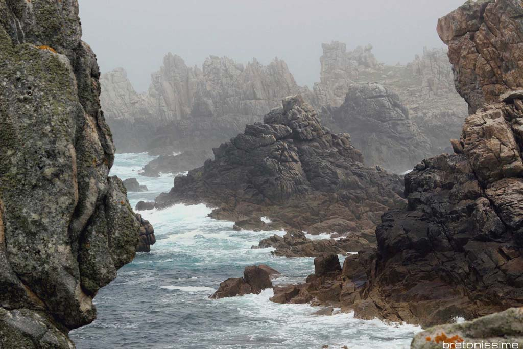Bretania, ocean (wyspa Ouessant)