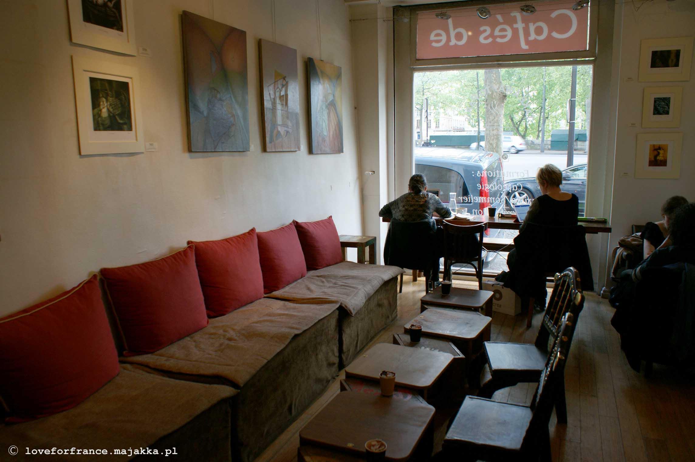 Kawiarnie i restauracje w Paryżu