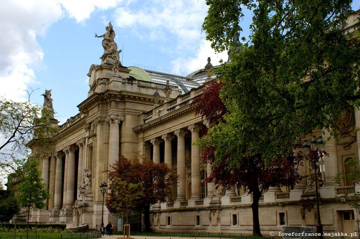 Grand Palais Paryż zwiedzanie