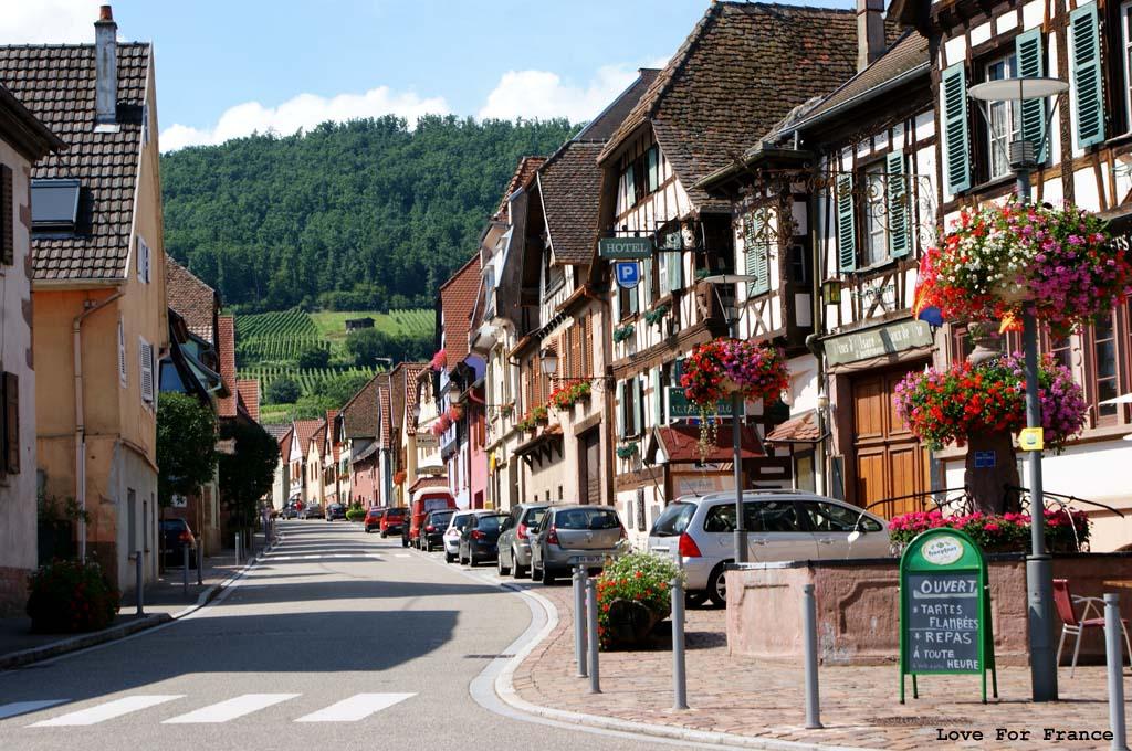 wakacje w Alzacji