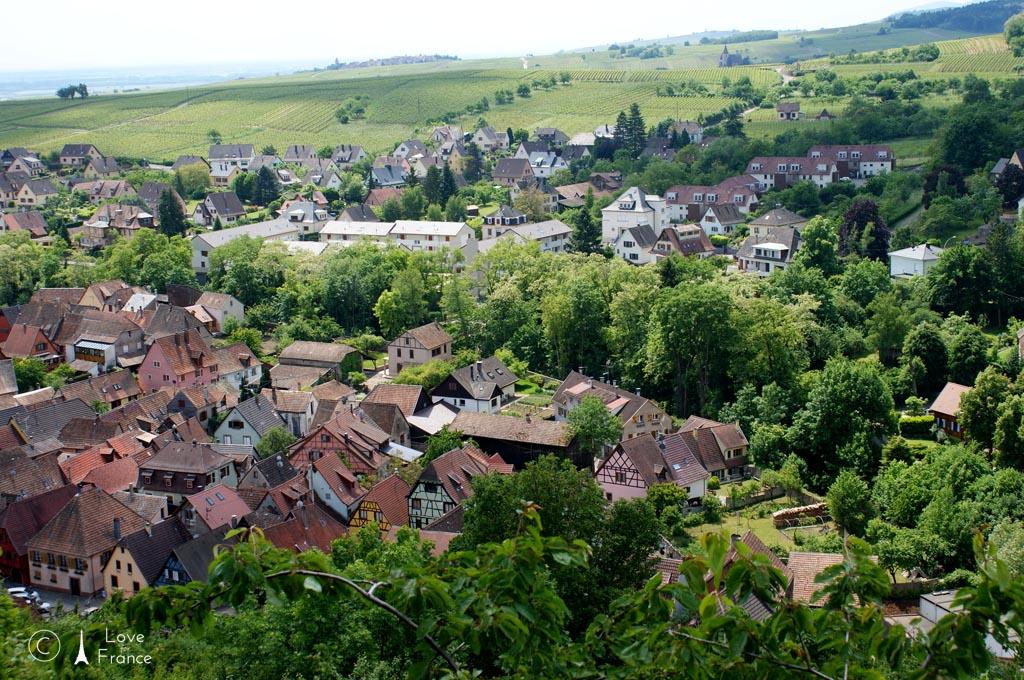Zwiedzamy alzackie Ribeauvillé