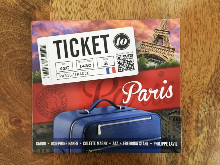 ticket to paris