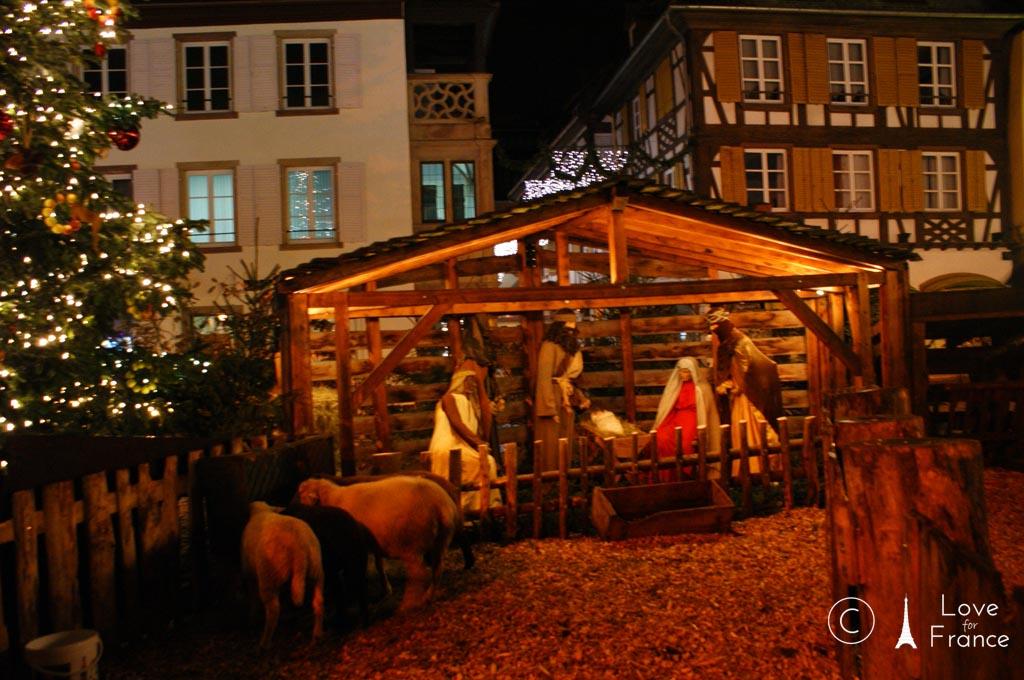une crèche – bożonarodzeniowa szopka