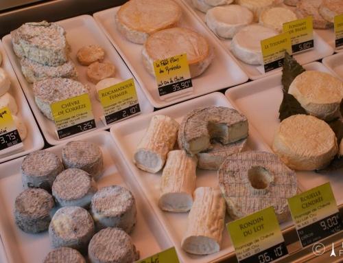 Małe tournée po gatunkach francuskich serów