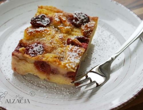 Mendiant aux cerises, średniowieczne ciasto z wiśniami