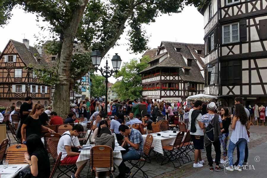 zwiedzanie Strasbourga