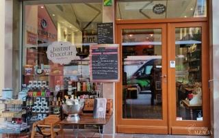 Bistro et Chocolat kawiarnie w Strasbourgu