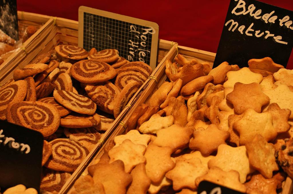 bredele i smakołyki z jarmarków bożonarodzeniowych