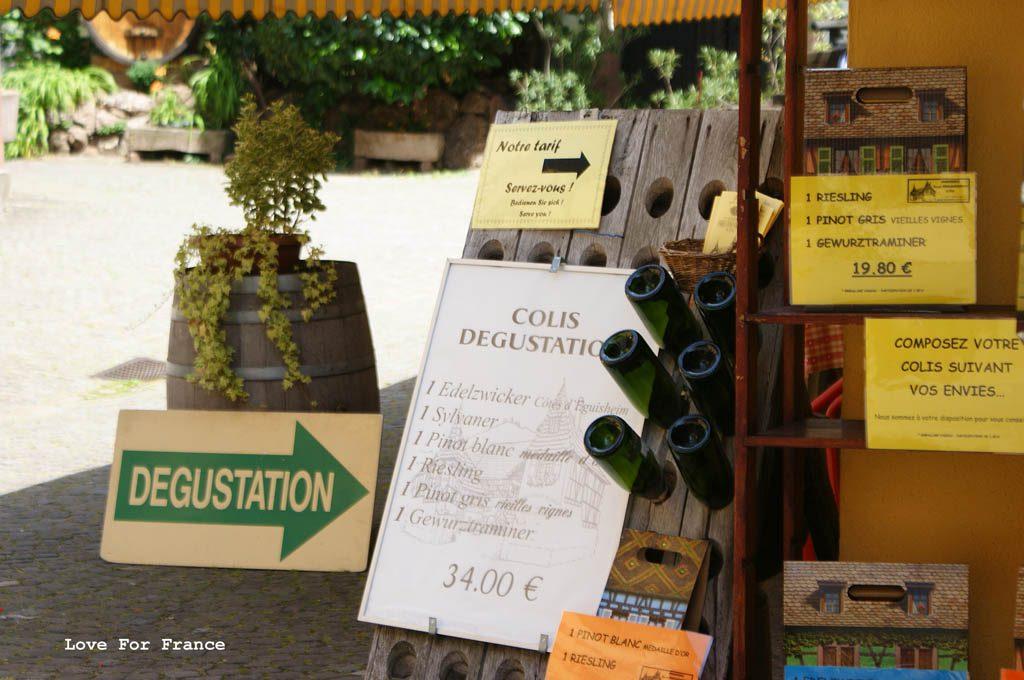 degustacja wina Alzacja