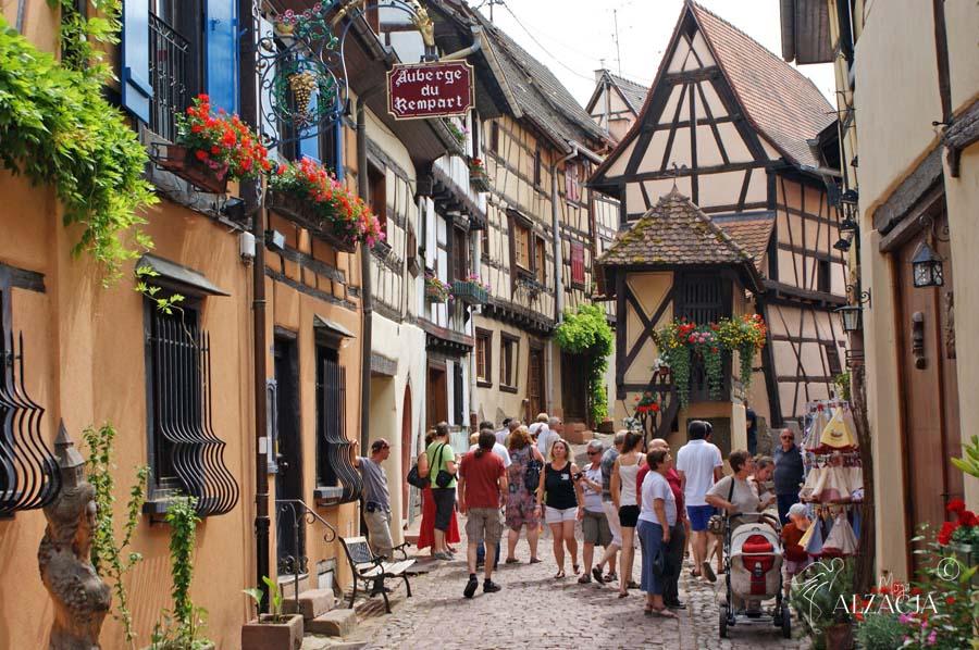 Eguisheim, bajkowe miasteczka Alzacji