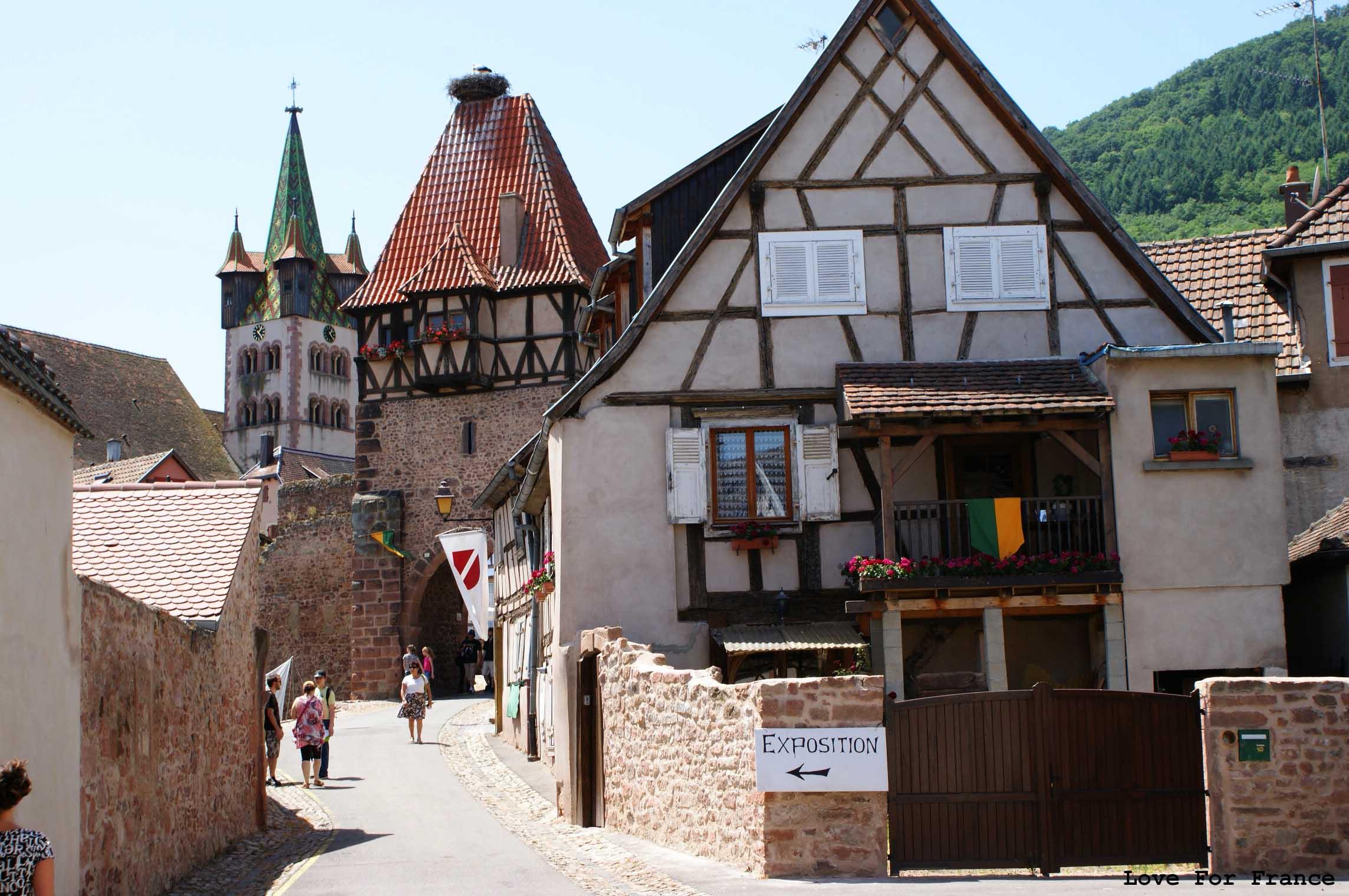 Święto średniowiecza w Chatenois