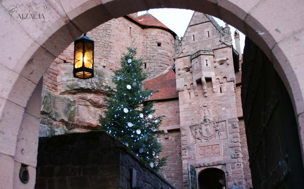 zamek Haut-Koenigsbourg