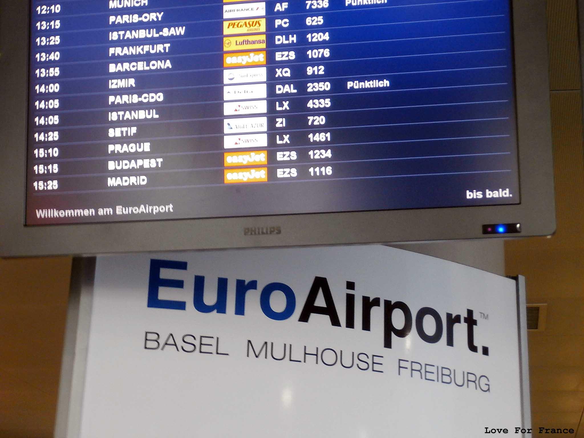 EuroAirport alzackie lotnisko